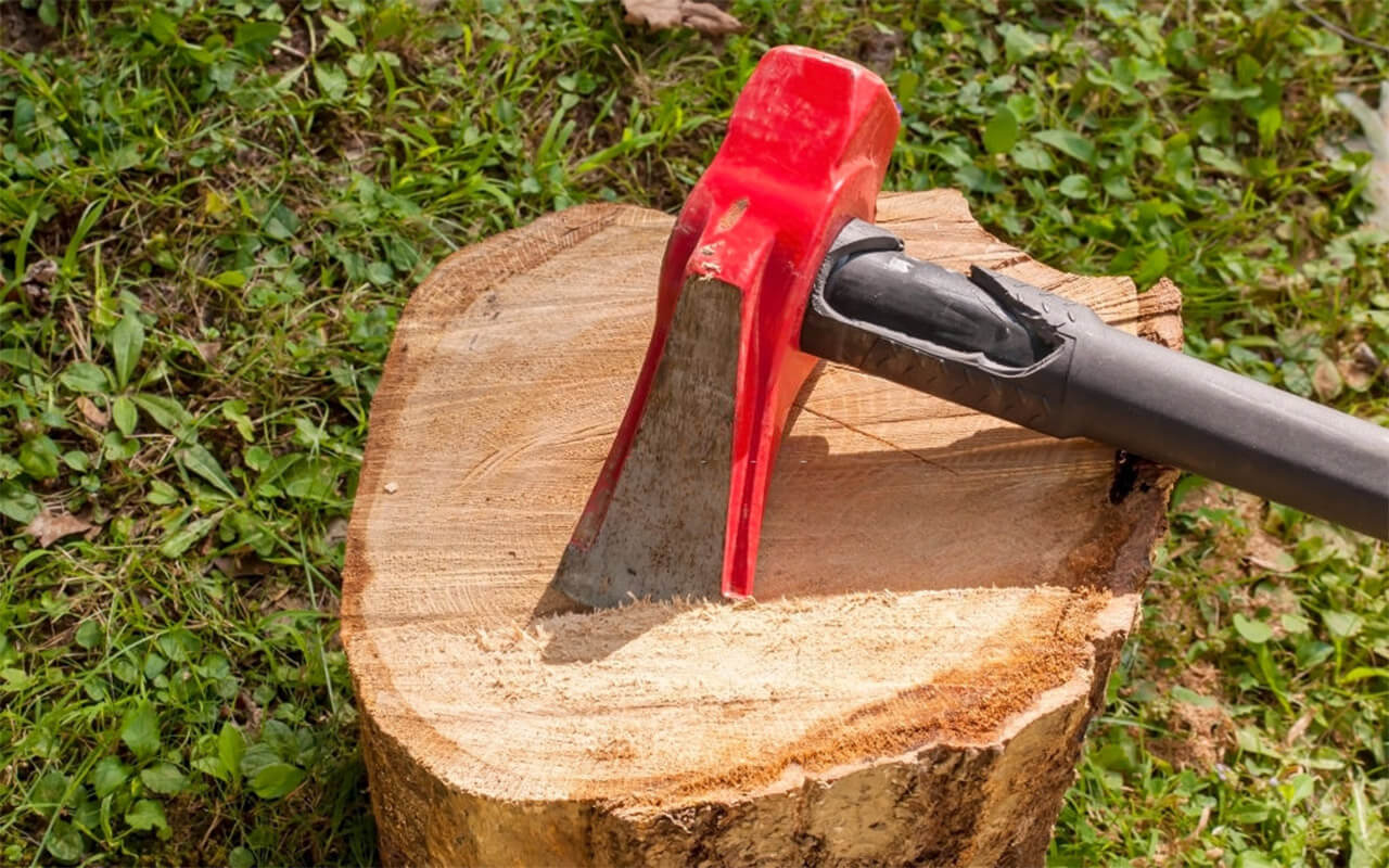 How to Sharpen a Splitting Maul