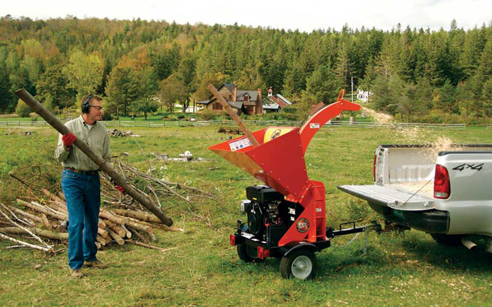 Where to Rent the Chipper Shredder